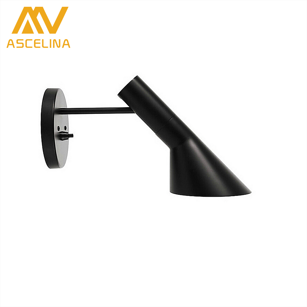 wall light Nordic Simple Modern Iron Wall Lamp indoor Decorative WALL Lamps sconces Home lighting Bedroom Bedside Bar Aisle acrylic snowflake modern simple led wall lamp novel metal bedside lamp wall light fixtures for bedroom aisle bar indoor lighting