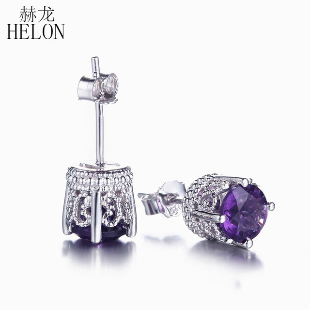 mall earrings jewelry sapphire deco art antique in products stud platinum
