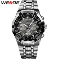 WEIDE Men S Popular Watches Men Luxury Brand Quartz Movement Military Business Men S Wristwatch Full