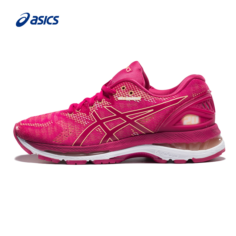 Original Asics Women Light Gel Nimbus 20 Running Shoes Cushion Stability Sports  Shoes Comfort Breathable Shoes Woman Sneakers 2feb0c9536