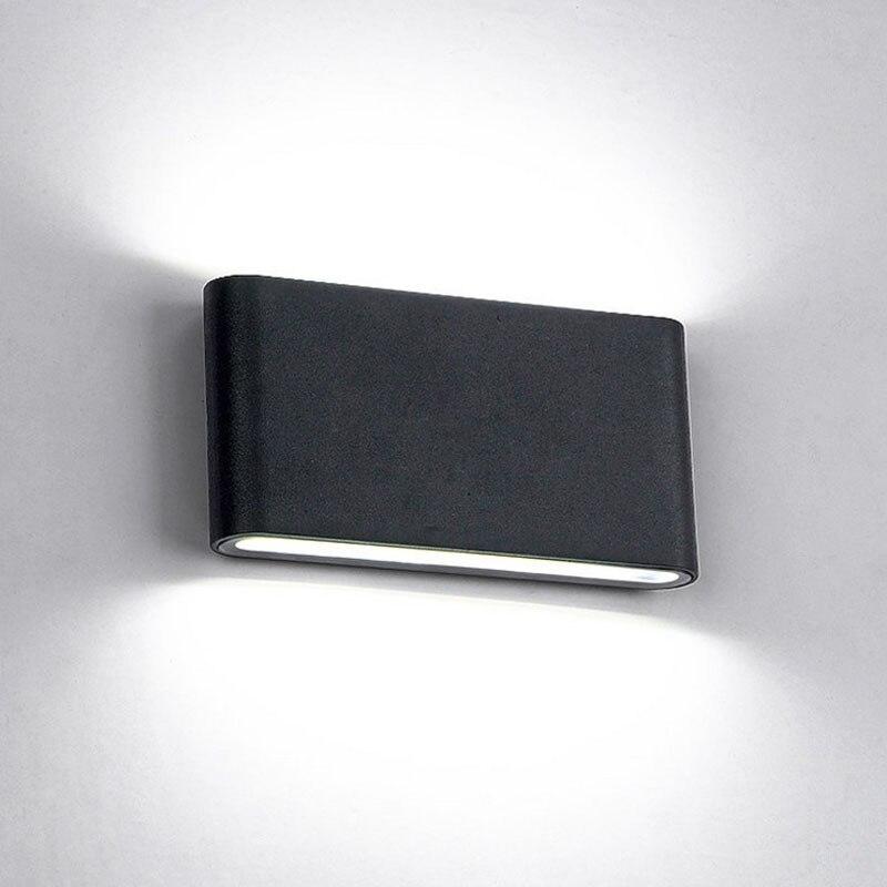 6 Watt/12 Watt LED Outdoor Wandleuchten IP65 Wasserdicht Wandleuchte Innen led Treppenlicht AC85-AC265V Korridor Lighitng nachtwandleuchten