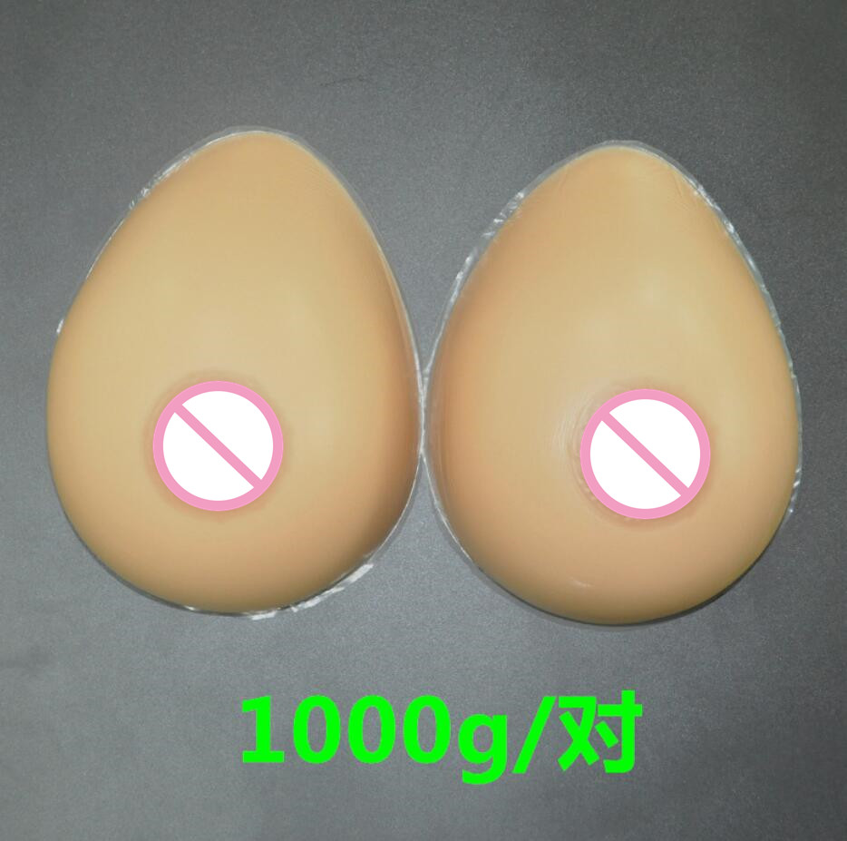 1000g/pair 34DD/36D Silicone Breast forms Mastectomy Artificial Silicone Fake Breast For Crossdressers And Transvestites breast light detection device for the breast cancer self check up and breast clinical examination