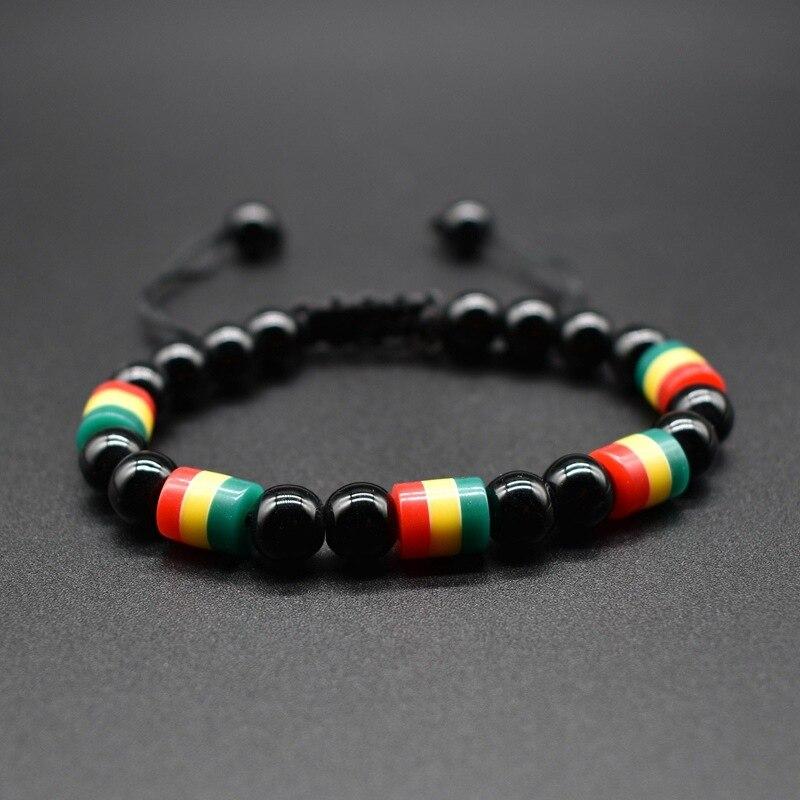 Acheter Bracelet Rasta Perle | Rasta-Lion