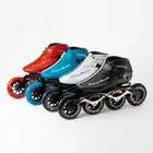 WEIQIU Inline Skates Professionele Slalom Volwassen Rolschaatsen Schoenen Sliding Gratis Skate Patins Size 35 44 Goed Als SEBA sneakers - 1