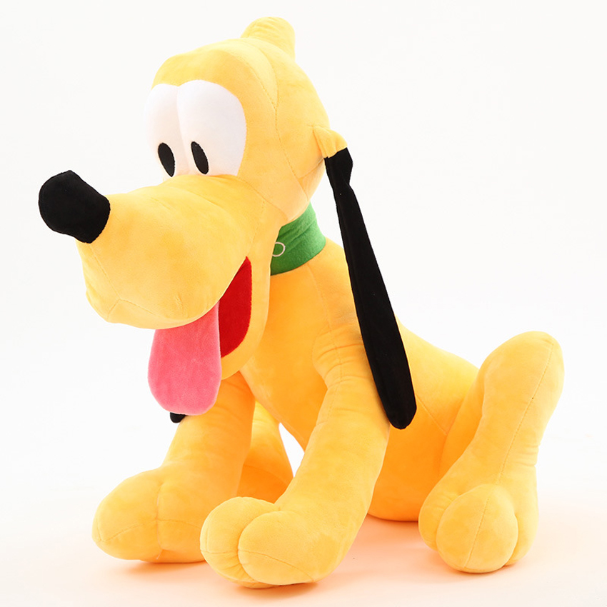 Hot Toy 1pc/lot 28cm Sitting Plush Pluto Dog Doll Soft Toys Stuffed Animals Toys For Children Mickey Minnie For Kids Girls Gifts