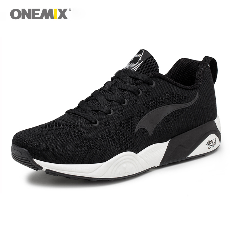 New Arrival Onemix Classics Style Men Running Shoes Light Breathable Sports Sneaker For Walking Outdoor Jogging Sport Shoes