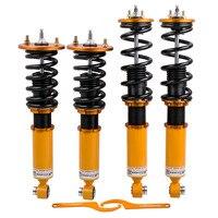 Fully Adjustable Coilover Kit For Nissan Skyline R32 Shock Suspension Adj. Damper