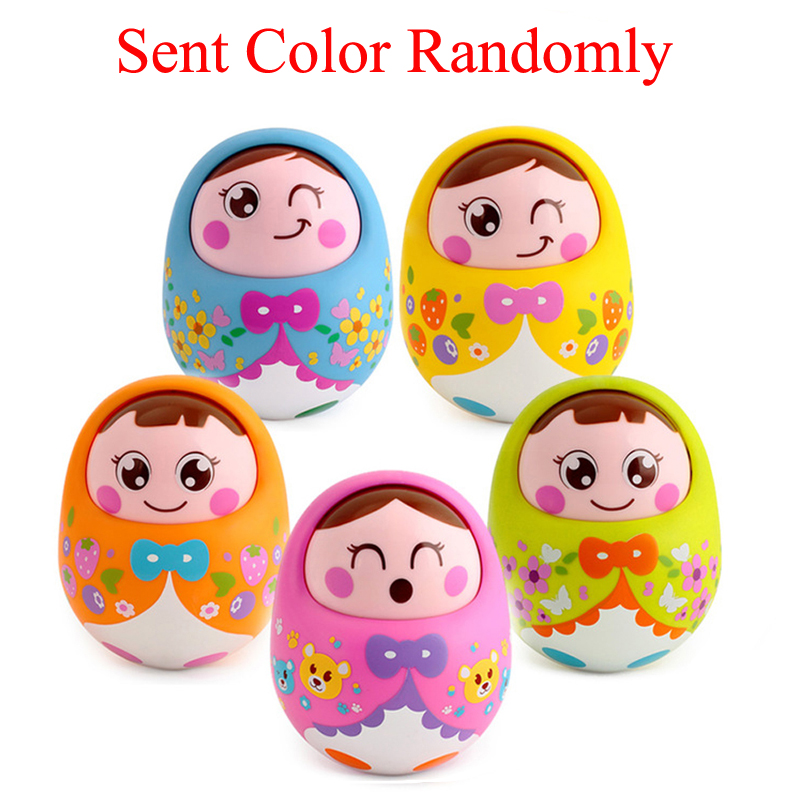 Music Rattle 0-6-12 Months Baby Early Education Puzzle Nodding Doll Strict Chick Tumbler Infant Toys Toddler Toys Unisex