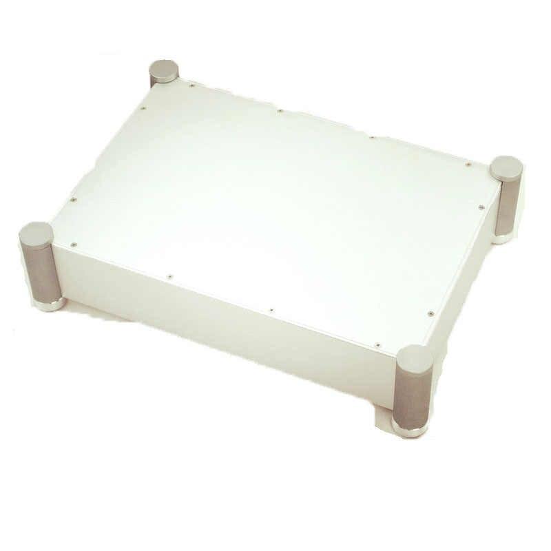 WA62 Серебряный Полный алюминиевый усилитель шасси/ламповый усилитель корпус/защитный корпус/DIY коробка