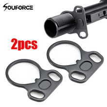 US 2PCS Dual Loop 223 Receiver End Plate Ambidextrous Sling Mount Adapter