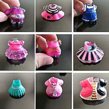 Original Beautiful Doll Clothes For DIY LoL Big Doll Figure Toy Accessories Toy