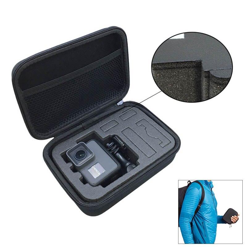 Case For GoPro Hero 8/7/6/5/4 Travel Storage Bag EVA Box Go Pro Hero 7 SJCAM Xiaomi YI 4K EKEN AKASO Action Camera Accessories