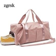 Women Suitcases And Travel Bags Luggage Duffle Bag Nylon Waterproof Daily Handbag Shoulder Bolsas