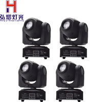(4 pieces/lot) Moving Head 30W gobo led Lighting spot light DJ Set Gobo Christmas Lights DJ Light Projector for Bar Party Event