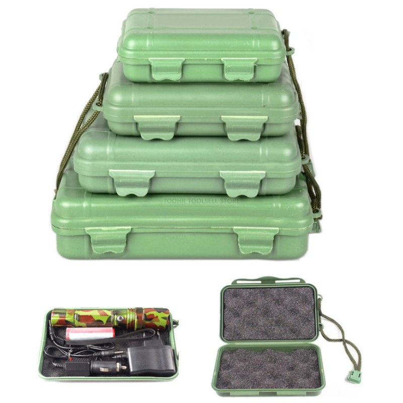 Outdoor Tool Box Multifunction Instrument Box Travel Shockproof Impact Resistant Safety Storage Tool Box