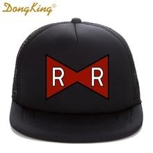 DongKing Trucker Cap RED RIBBON ARMY Print Dragon Ball Z Adult Trucker hat  Mesh. US  8.50   piece Free Shipping e87d304775b6