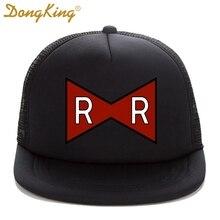 DongKing Trucker Cap RED RIBBON ARMY Print Dragon Ball Z Adult Trucker