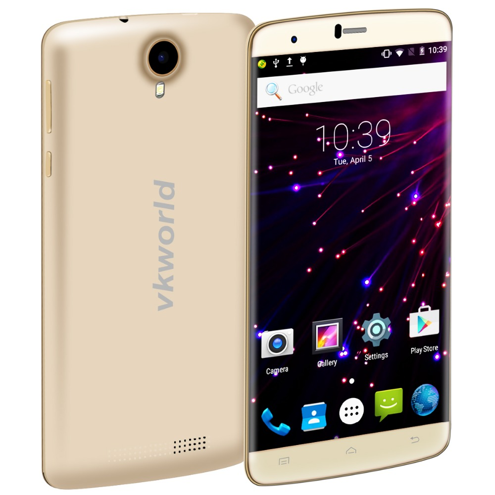Vkworld T6 Ponsel 6 Inch Telepon Android 5 1 MTK6735 Quad core Ponsel 2G RAM 16G