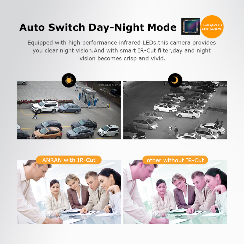 Image 3 - ANRAN 8CH CCTV System Wireless 1080P NVR With 2.0MP Outdoor Waterproof Wifi Security Camera System Night Vision Surveillance Kit-in Surveillance System from Security & Protection