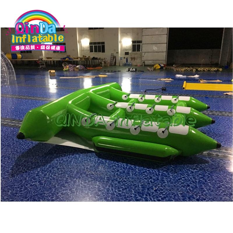 Jouet gonflable de Tube de Ski de bateaux de poissons de mouche de l'eau de Sunway, Tube de poisson volant gonflable remorquable