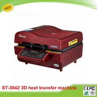 ST-3042 Kỹ Thuật Số 3D Thăng Hoa Máy Truyền Nhiệt 3D Hút Chân Không Máy Ép Nhiệt cho Trường Hợp Mugs Tấm Ly Rượu Vang