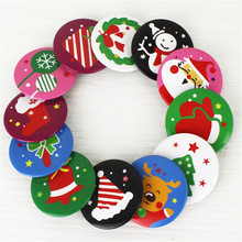 5Pcs New Arrival Christmas Decorations For Home Children Small Gifts Badge Festival Party Year Decoration