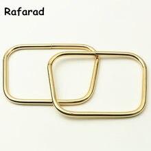 Lot De 10 fermoirs métalliques pour Sac à main, couleur or, poignée avec cadre, accessoires