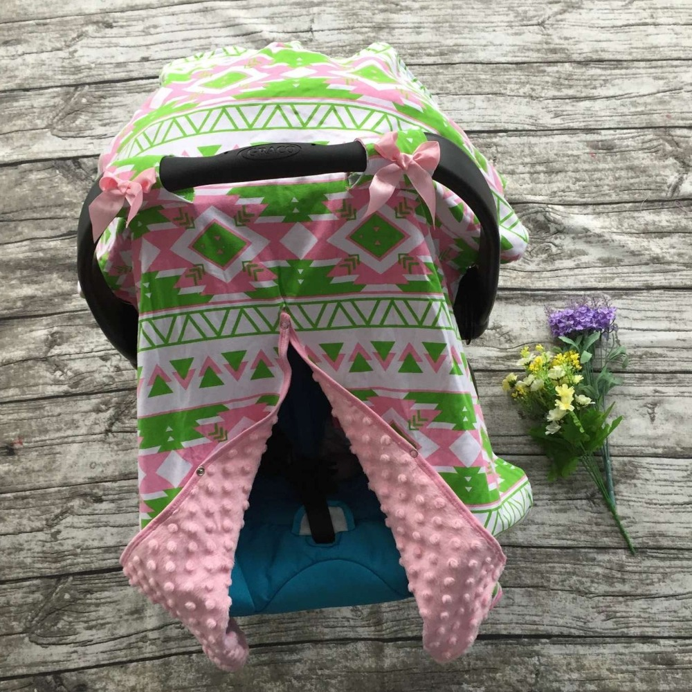 2016 new free shipping baby car seat canopy cover infant car seat canopy children aztec car - Green Canopy 2016