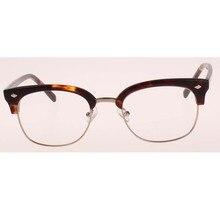 2016 newest fashion high quality points women plain frame glasses men optical oculos clear lens cat