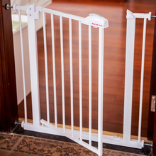 Младенец и ворота безопасности для детей перила лестничные перила 20 см расширение с дверью цвет матч