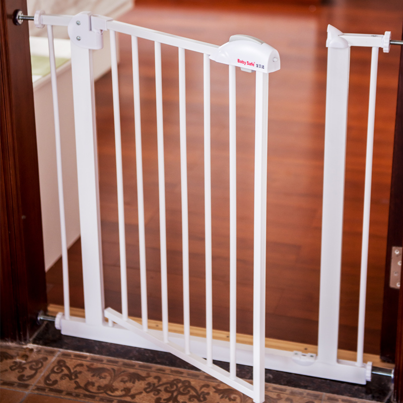 Infant and child safety gate railing stair guardrail 20CM extension with the door color match