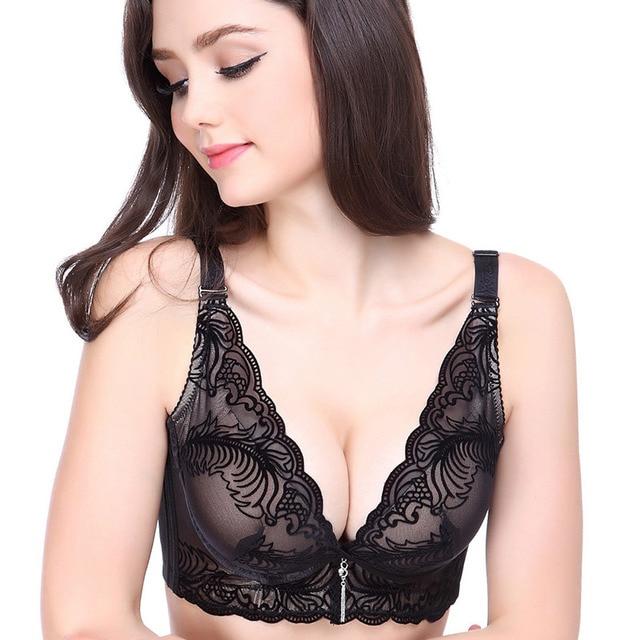 f06dfdcbfe Fashion Elegant gather breast push up bra support breast women bra luxury  PushUp Sexy bra for