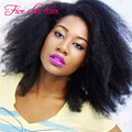 Fashion Afro Kinky Curly lace front wigs Glueless virgin Brazilian Silk top full lace Human hair wigs with natural hairline