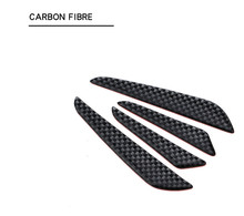 цена на Carbon Fiber Car Door Edge Guard Strip Scratch Protector Anti-collision Trim Anti-rub Car Door Edge Guards Molding Protection