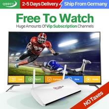Dalletektv Arabe IPTV Boîte Leadcool Intelligent Android TV Box 1 année QHDTV IPTV Abonnement 1300 Canaux Français Europe ROYAUME-UNI IPTV boîte