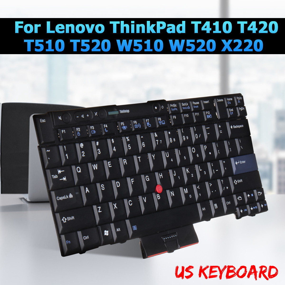English Keyboard For Lenovo ThinkPad T410 T420 T510 T520 W510 W520 X220 Notebook Laptop Replacement Keyboards стоимость