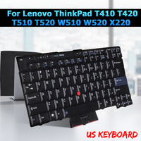 English Keyboard For Lenovo ThinkPad T410 T420 T510 T520 W510 W520 X220 Notebook Laptop Replacement Keyboards