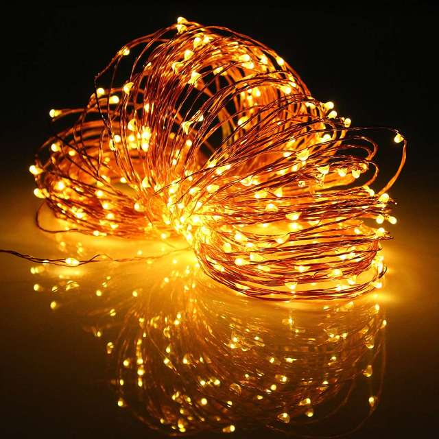 Solar Power 32M 3.6W Multicolor LED Copper Wire String Fairy Light Christmas Wedding Party Decor Lamp Waterproof IP67