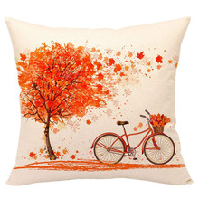 Minimalist Linen cotton cushion case Polyester Home Decor Bedroom Decorative  Throw Pillows For Office Chair