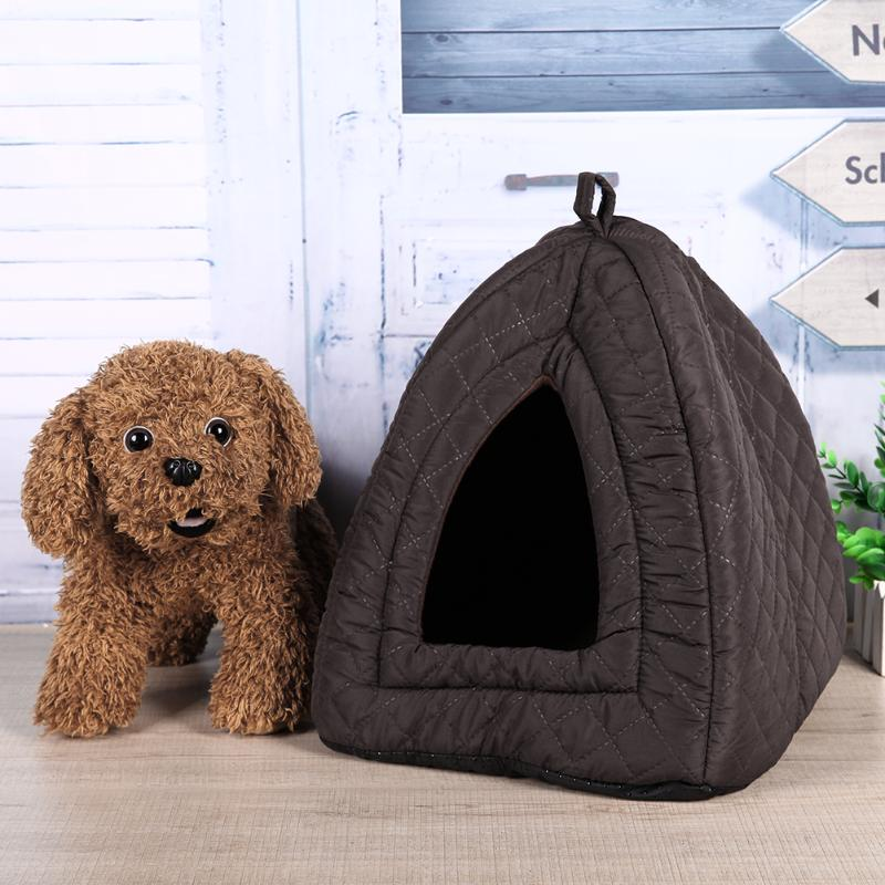 Pet Dog House Soft Yurts Cat Bed Winter Warm Puppy Dog Kennel Tent Cushion House for Small Dogs Teddy Bichon-in Houses Kennels u0026 Pens from Home u0026 Garden on ... : dog kennel tent - memphite.com