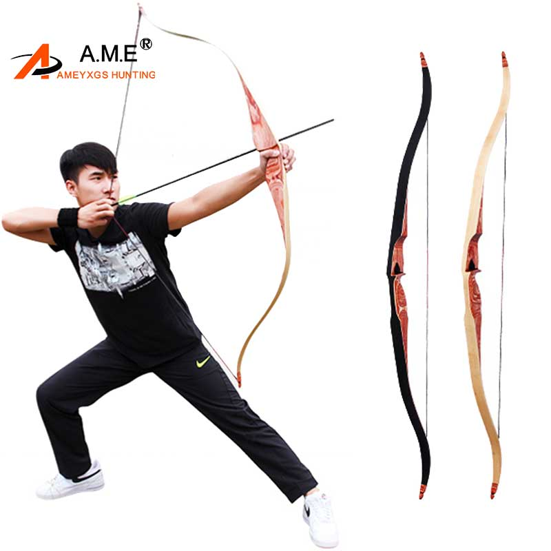 35-60lbs Traditional Hunting Longbow 60 inches Laminated Recurve Bow Take Down Outdoor Shooting Longbow American Hunting Archery 30 50lbs archery pure handmade recurve bow traditional longbow wooden hunting target shooting laminated new outdoor games