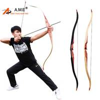 35 60lbs Traditional Hunting Longbow 60 inches Laminated Recurve Bow Take Down Outdoor Shooting Longbow American Hunting Archery