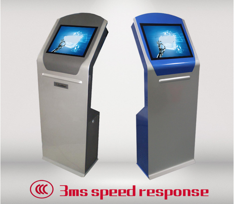 17 Inch Payment Wall Mounted Kiosk With Printer, Bill Acceptor And Barcode Scanner