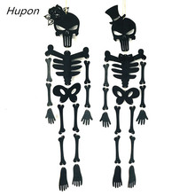 Skull Halloween Horror Props Decorations Hanging Outdoor Scary Haunted House Party Decoration Wedding Supplies