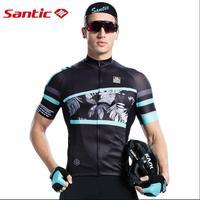 Nova Šantić Mens Primavera Verão Ciclismo Jersey Respirável Quick Dry MTB Estrada Bicicleta Camisas de Manga Curta Anti Suor Bicicleta roupas|Camisetas p/ ciclismo| |  -
