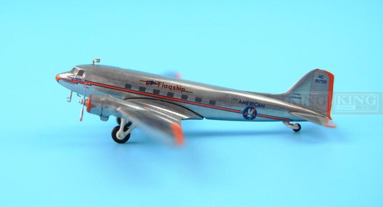 GJAAL977* GeminiJets American Airlines NC21798 1:400 DC-3 commercial jetliners plane model hobby