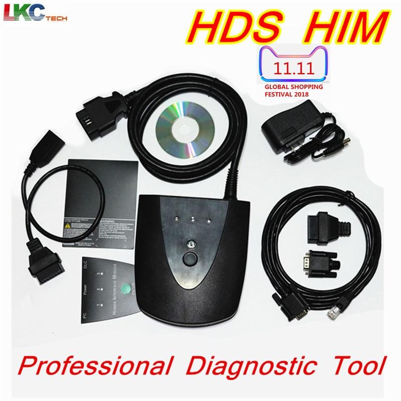 цена на For Ho//n--da HDS HIM Newest V3.101.015 Professional OBD2 Diagnostic Tool for Ho//n--da HDS Scanner HIM HDS Cable