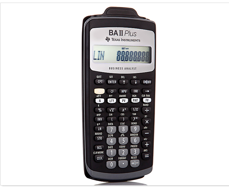 TI BA II Plus Financial Calculator BAII PLUS CFA Exam Calculator