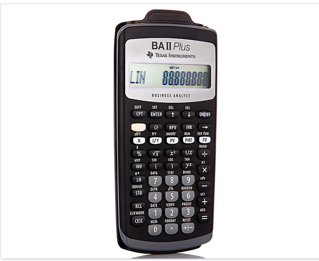 Ti Ba Ii Plus Financial Calculator Baii Cfa Exam