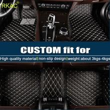 Tapetes do carro personalizado para Todos Os Modelos de Suzuki Jimny Grand Vitara Swift Kizashi Wagon R SX4 Paleta Stingray estilo do carro esteira do assoalho